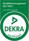 ISO Zertikfikat 9001