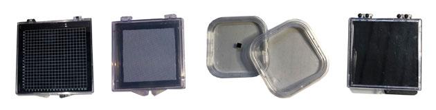 Verpackungslösungen, Membranboxen für Chips